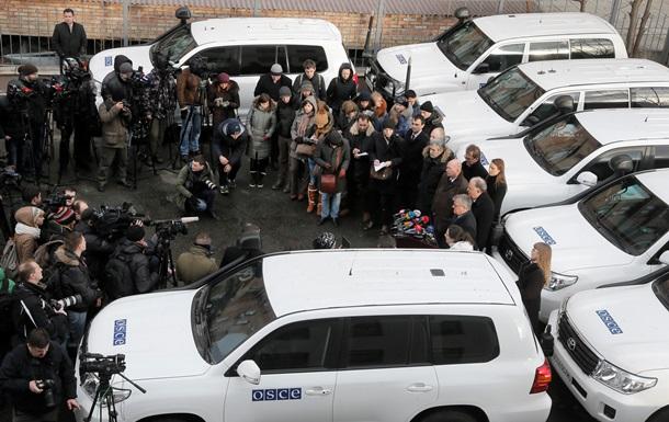 Наблюдателей миссии ОБСЕ не пропустили на территорию ЛНР