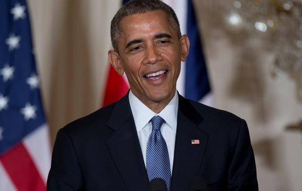 Рейтинг Обамы достиг максимума с октября 2013 года