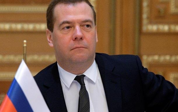 Медведев пригрозил Украине поднять цены на электричество