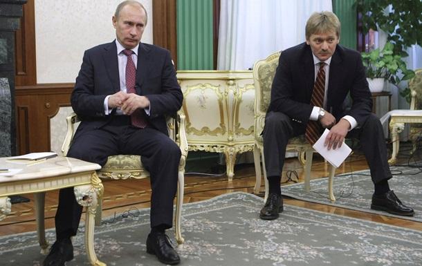 Песков: Запад хочет добиться свержения Путина