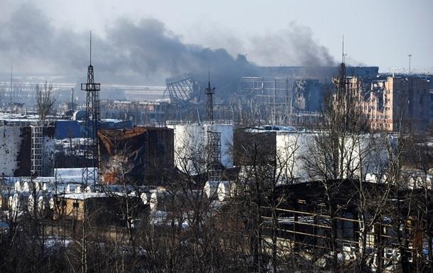 Силы АТО покинули аэропорт Донецка - Азов