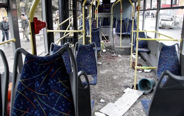 Прокуратура назвала обстрел троллейбуса в Донецке терактом