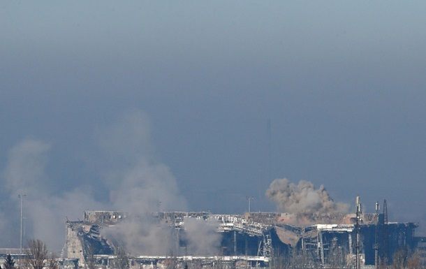Донецкий аэропорт покинули силы АТО