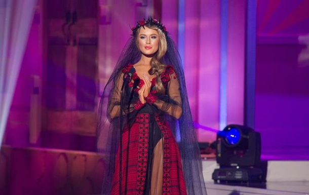 Украинская   Невеста войны   не прошла в финал конкурса Мисс Вселенная