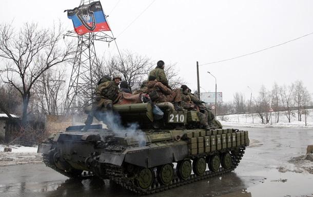 Освобождение пленных и наступление сепаратистов. Карта АТО за 23 января