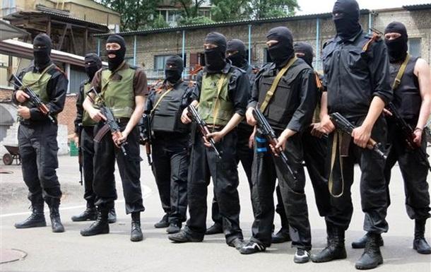 Задержаны семь членов  Русской православной армии ДНР