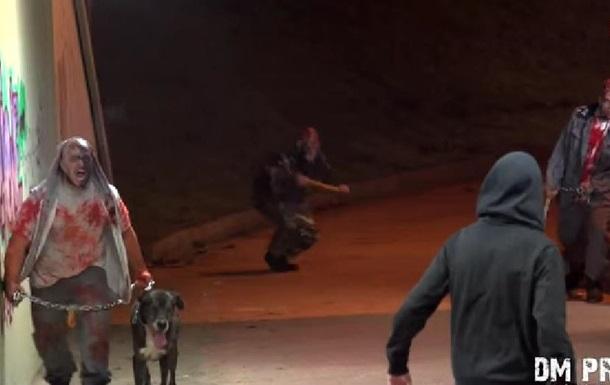 Зомби заполонили итальянский город: видео от пранкеров стало хитом YouTube