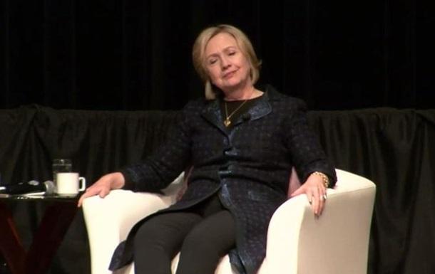 Хиллари Клинтон спародировала президента России Путина