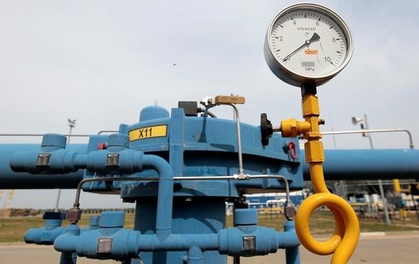 Газовые хранилища Украины заполнены лишь на треть