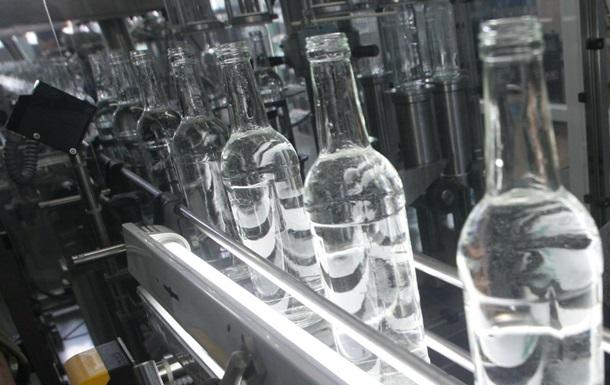 В России рекордно снизилось производство водки
