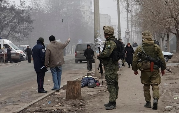 Азов показал последствия обстрела Мариуполя