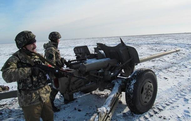 Под Горловкой военные стянули дополнительную артиллерию -  Азов