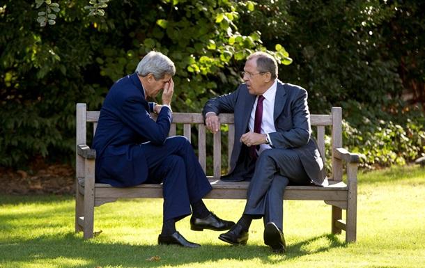 Лавров обсудил с Керри ситуацию в Украине