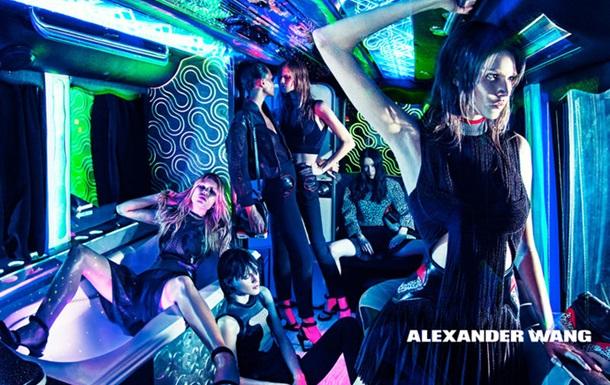 Alexander Wang запустил рекламную кампанию в стиле мобильной вечеринки