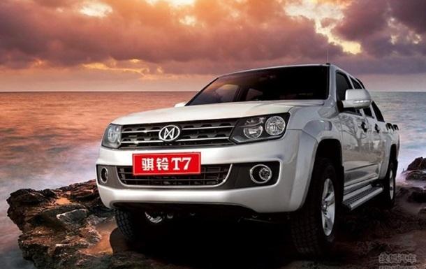 Китайцы создали  клона  Volkswagen Amarok