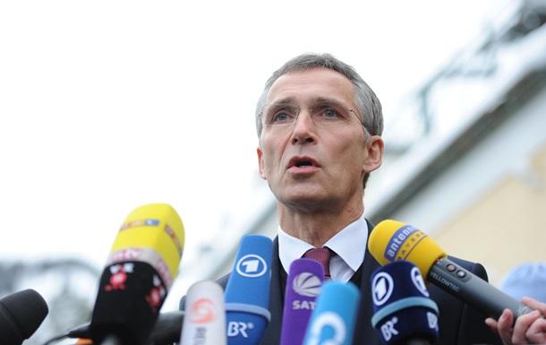 Выступление генсека НАТО по событиям в Мариуполе