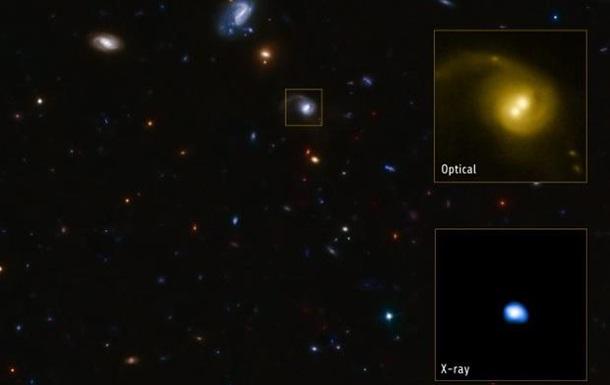 Открыта откатная сверхмассивная черная дыра - ученые