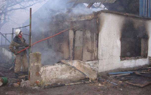 В Запорожской области при пожаре сгорели три человека