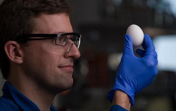 Ученые сварили яйцо  обратно