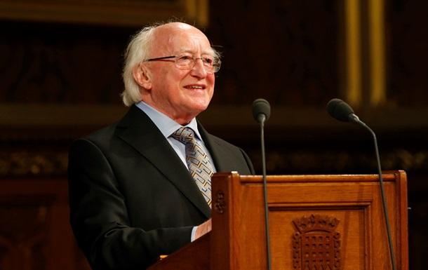 Президент Ирландии рассказал, как урегулировать конфликт на Донбассе
