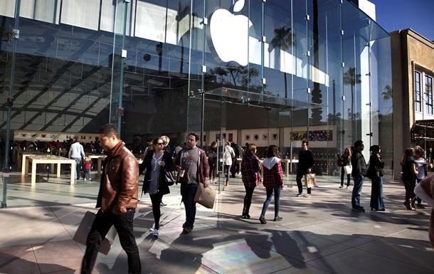 Apple показала рекордную прибыль в $18 млрд в первом квартале