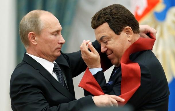 Кобзон рад, что лишается званий почетного гражданина городов Украины