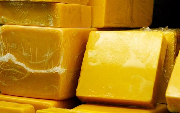 В Крым не пропустили 19 тонн украинского сыра