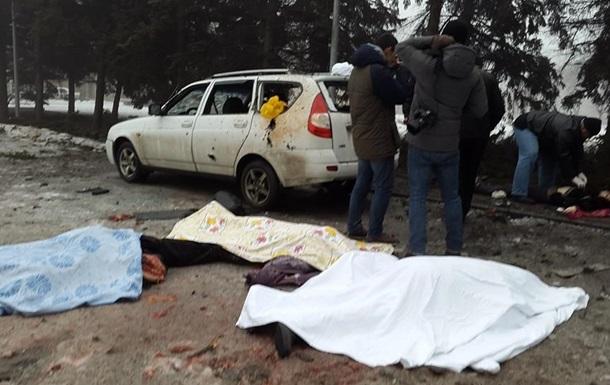 СНБО подтвердил смерть семи мирных жителей в Донецке
