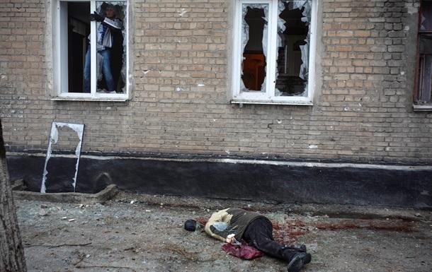 Из-за обстрела Горловки погибли 8 мирных жителей, 19 ранены