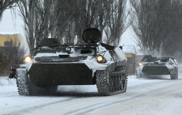 ОБСЕ вновь увидела на Донбассе бронетехнику без опознавательных знаков