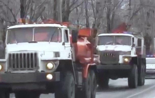 Российский 12-й гумконвой прибыл на Донбасс