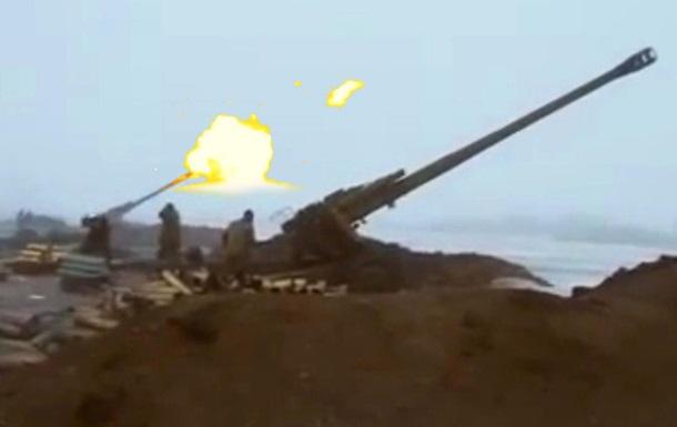 Армия Украины сдерживает атаку боевиков перед Дебальцево 31.01.2015