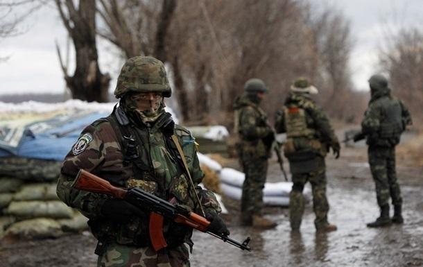 Позиции батальона Азов были обстреляны под Мариуполем