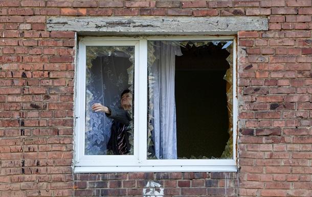 В Дебальцево ранены девять мирных жителей
