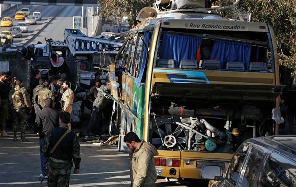 В крупнейших городах Сирии произошли теракты