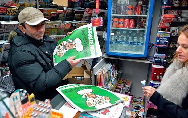 Редакция Charlie Hebdo решила сделать перерыв в работе