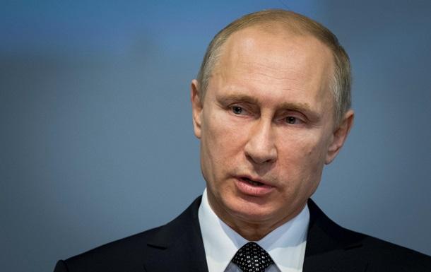 Путин призывает прекратить боевые действия на Донбассе