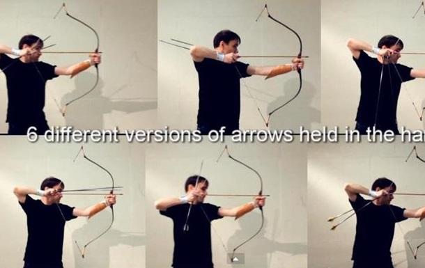 Видео с лучником-виртуозом покорило YouTube
