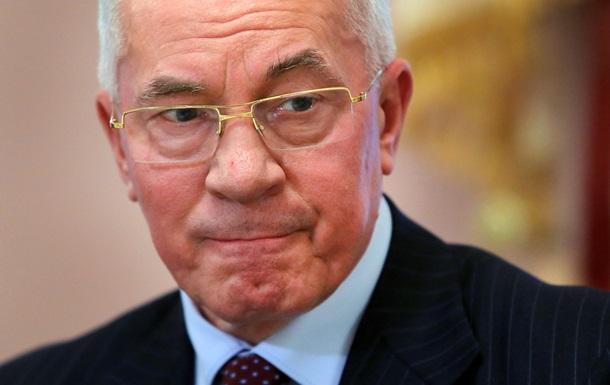 Азаров: Встреча Обамы, Путина и Меркель может восстановить мир
