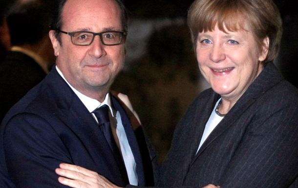 Олланд и Меркель сделают новое предложение по Донбассу