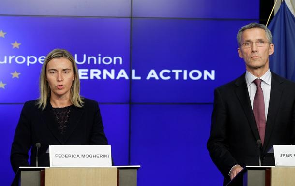 НАТО и ЕС поддерживают новую инициативу по Донбассу