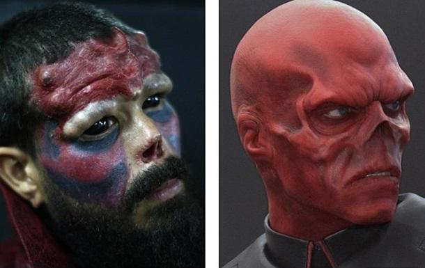 Фанат комиксов отрезал себе нос для сходства с любимым героем