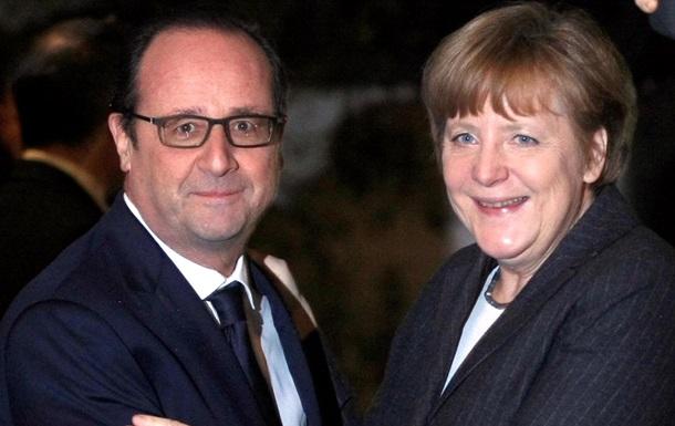 МИД Украины: Олланд и Меркель повезут Путину новый мирный план