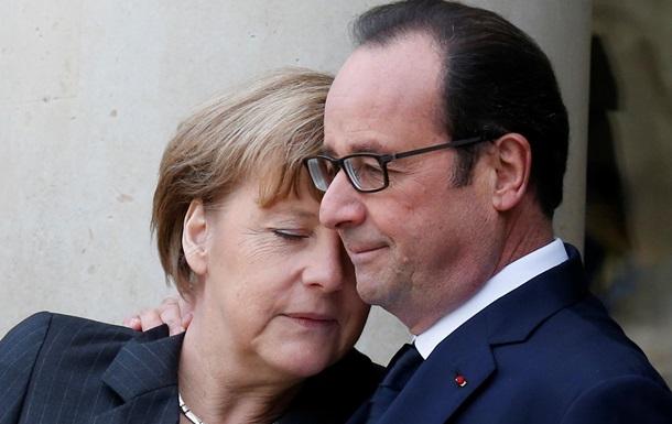 Германия и Франция отвергли предложение Путина - WSJ