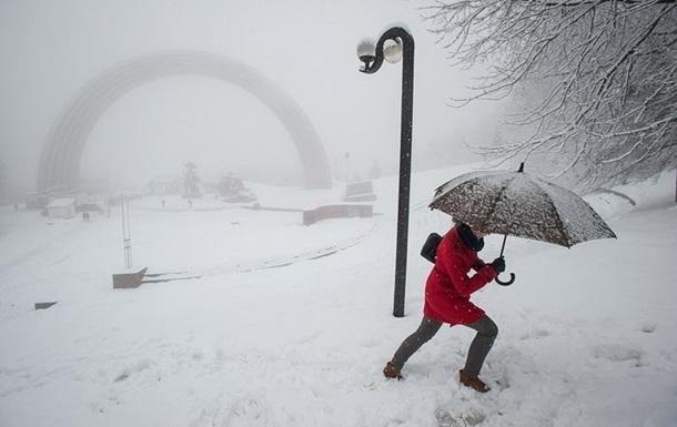 На выходных в Украину вернутся снегопады