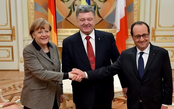 У Порошенко раскрыли детали переговоров с Меркель и Олландом