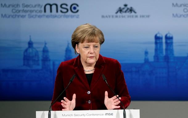 Меркель выступает за Европу от Владивостока до Лиссабона