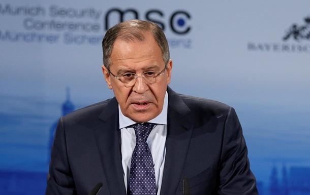 Лавров: Военного решения украинского конфликта не существует