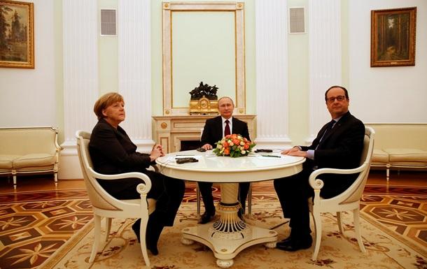 Немецкая оппозиция одобрила переговоры Меркель и Олланда в Москве