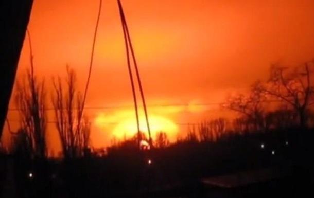 В Донецке прогремел мощный взрыв, ударная волна прошла по всему городу (ВИДЕО)